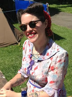 Joanne Croxford, President, Cambridge Blue Belles WI
