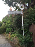 Local signpost to Denman College