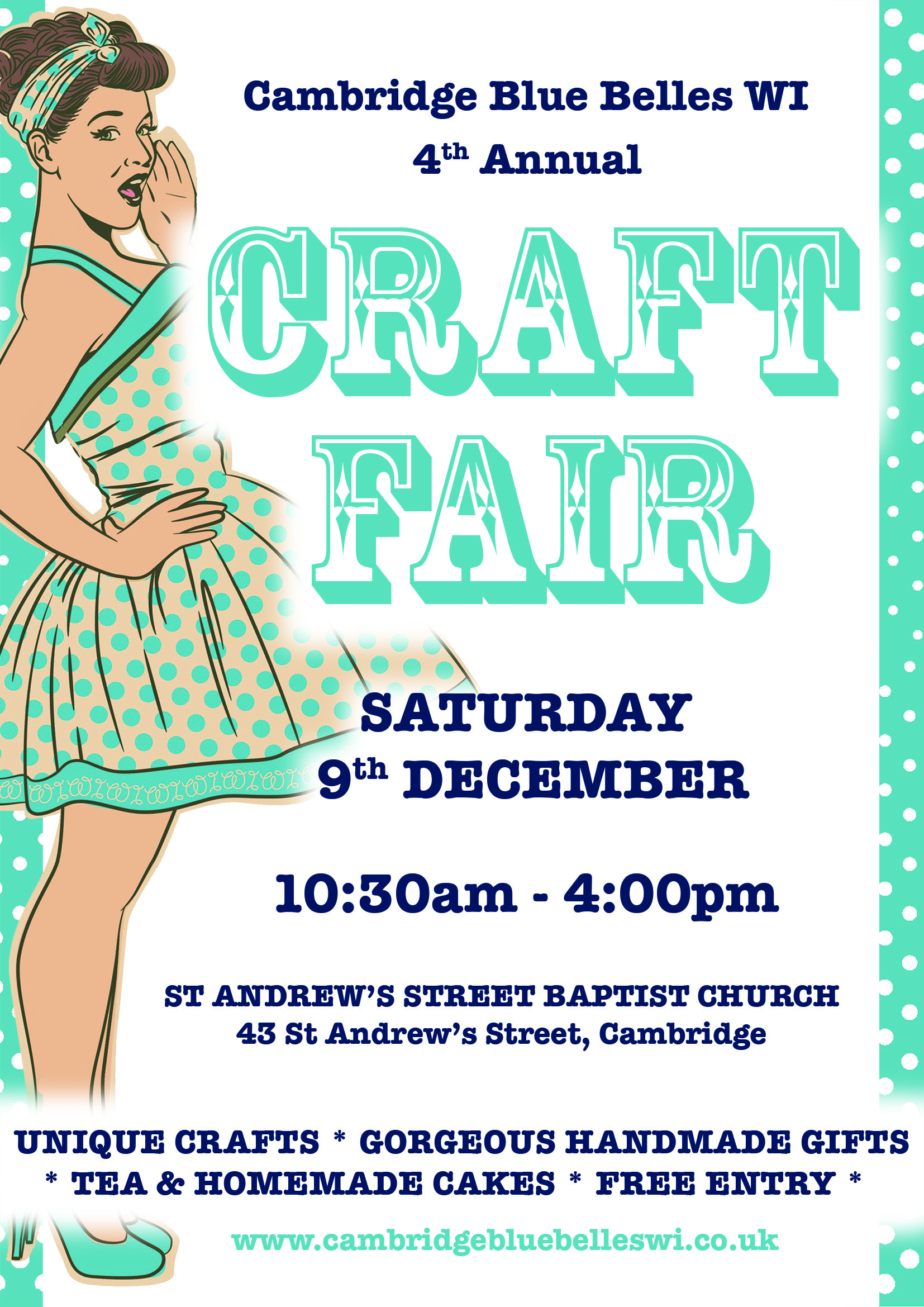Cambridge Wi Craft Fair